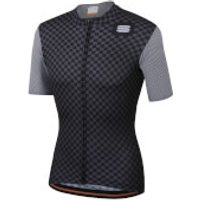 Sportful Checkmate Jersey - XL - Black/Anthracite
