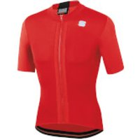 Sportful Strike Jersey - M - Red/Black