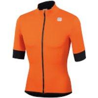 Sportful Fiandre Light NoRain Short Sleeve Jacket - M - Orange SDR