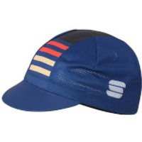 Sportful Mate Cap - Blue Twilight/Fire Red/Gold
