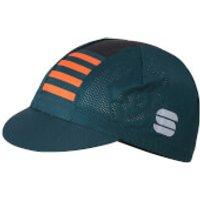 Sportful Mate Cap - See Moss/Black/Orange SDR