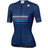 Sportful Women's Diva Jersey - L - Blue Twilight