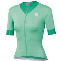 Sportful Women's Kelly Jersey - L - Acqua Green