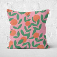 Floral Plant Square Cushion - 60x60cm - Soft Touch - Floral Gifts