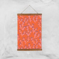 Funky Seaweed Giclée Art Print - A3 - Wooden Hanger - Funky Gifts