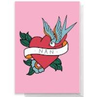 NAN TATTOO Greetings Card - Standard Card - Nan Gifts
