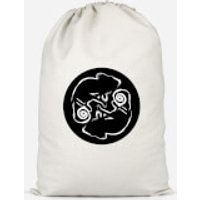 Abstract Reptile Cotton Storage Bag - Large