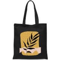 Geometric Branch Tote Bag - Black - Bag Gifts