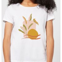 Abstract Holiday Art Women's T-Shirt - White - 5XL - White - Holiday Gifts