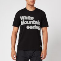 White Mountaineering Men's Printed Stitched Logo T-Shirt - Black - S