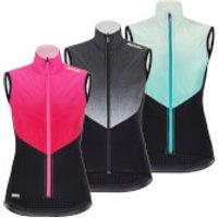 Santini Women's Redux Genio Vest - L - Pink