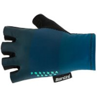Santini Reduc Fortuna Aero Gloves - M - Teal