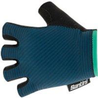 Santini Mille Gloves - S - Teal