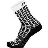 Santini Grido High Profile Socks - XS/S - Black