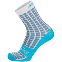 Santini Grido High Profile Socks - XS/S - Silver Bullet