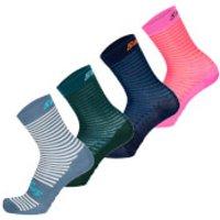 Santini Mille High Profile Socks - M/L - Teal