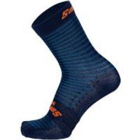 Santini Mille High Profile Socks - XS/S - Space Blue