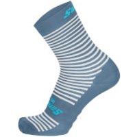 Santini Mille High Profile Socks - XS/S - Silver Bullet