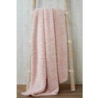Rapport Teddy Throw - Pink - 130 x 180cm - Teddy Gifts