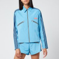 adidas X Lotta Volkova Women's Zip Shirt Jacket - Blue - XS