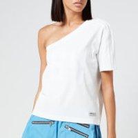 adidas X Lotta Volkova Women's Ringer T-Shirt - White - XS
