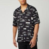 Ksubi Men's You Have Been Warned Resort Shirt - Black - M