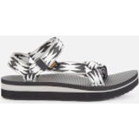 Teva Women's Midform Universal Sandals - Halcon Black Multi - UK 4