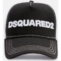 Dsquared2 Men's Snap Back Baseball Cap - Nero Bianco