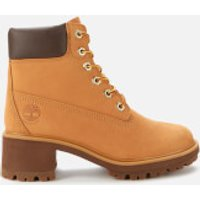 Timberland Women's Kinsley 6 Inch Waterproof Heeled Boots - Wheat - UK 4