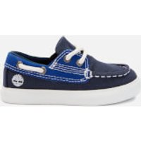 Timberland Toddlers' Newport Bay Boat Shoes - Black Iris - UK 4.5 Toddler