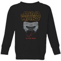 Star Wars Kylo Helmet Kids' Sweatshirt - Black - 11-12 Years - Black - Geek Gifts
