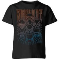 Star Wars Knights Of Ren Kids' T-Shirt - Black - 11-12 Years - Black - Geek Gifts