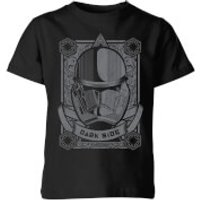 Star Wars Darkside Trooper Kids' T-Shirt - Black - 7-8 Years - Black - Geek Gifts