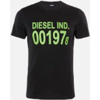 Diesel Men's Diego 1978 T-Shirt - Black - XL