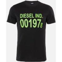 Diesel Men's Diego 1978 T-Shirt - Black - XL