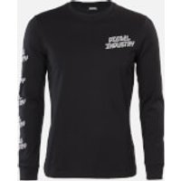 Diesel Men's Diego Long Sleeve T-Shirt - Black - L