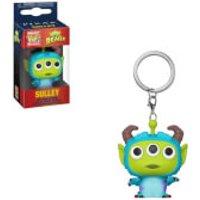 Image of Disney Pixar Alien as Sulley Pop! Keychain