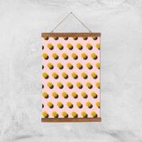 Bouncing Dots Giclee Art Print - A3 - Wooden Hanger - Bouncing Gifts