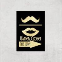 Water Closet Giclee Art Print - A3 - Print Only