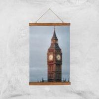 Big Ben Giclee Art Print - A3 - Wooden Hanger