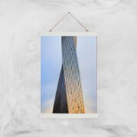 Twisted Building Giclee Art Print - A3 - White Hanger - Building Gifts