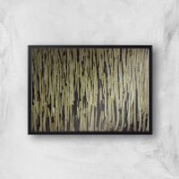 Textures Giclee Art Print - A3 - Black Frame
