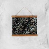 Alien Life Giclee Art Print - A4 - Wooden Hanger - Alien Gifts