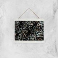 Alien Life Giclee Art Print - A4 - White Hanger - Alien Gifts