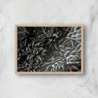 Alien Life Giclee Art Print - A3 - Wooden Frame - Alien Gifts