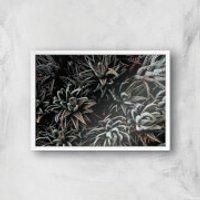 Alien Life Giclee Art Print - A3 - White Frame - Alien Gifts