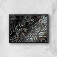 Alien Life Giclee Art Print - A3 - Black Frame - Alien Gifts