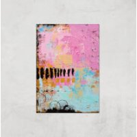 Abstract Cupcake Giclee Art Print - A2 - Print Only - Cupcake Gifts