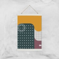 Hipster Giclee Art Print - A3 - White Hanger - Hipster Gifts
