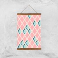 Push My Diamonds Giclee Art Print - A3 - Wooden Hanger - Diamonds Gifts